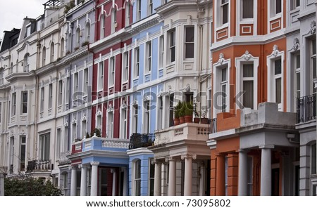 Victorian Buildings in London