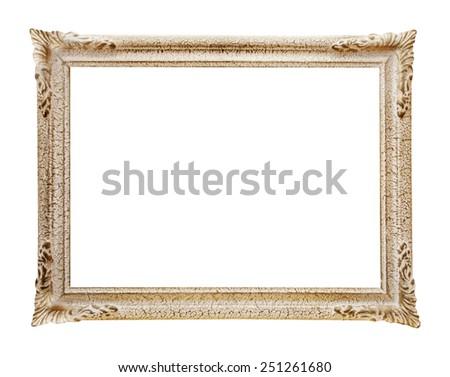 Victorian frame - stock photo