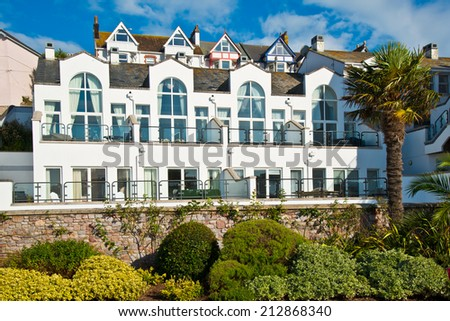 Victorian Style English Houses - stock photo