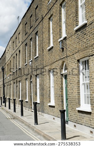 Victorian Terraced Houses, London