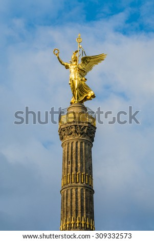 Victory Column of Berlin, Germany