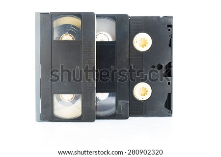 Video Cassette - stock photo