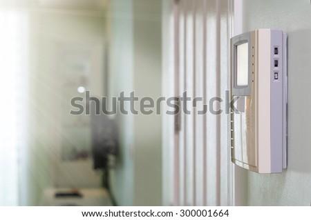 video door phone - stock photo