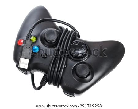 Video game controller - stock photo