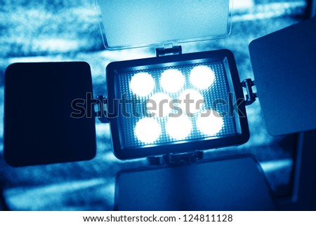 Video Light - stock photo