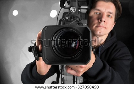 Video production. - stock photo