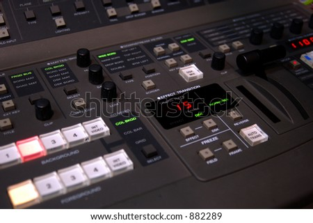 Video production switcher