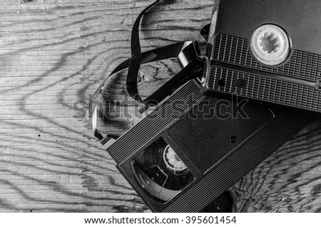 videotapes - stock photo