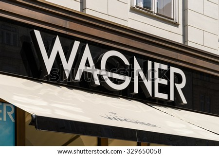 VIENNA, AUSTRIA - AUGUST 15, 2015: Founded in 1917 Juwelier Wagner is one of the few jewellery firms in Austria which has both a state-of-the-art in-house jewellery workshop and a watch workshop.