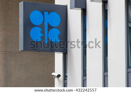 VIENNA - JUL 22: Building Organization of the Petroleum Exporting Countries (OPEC) on July 22, 2012 on Helferstorferstrasse 17 in Vienna, Austria.