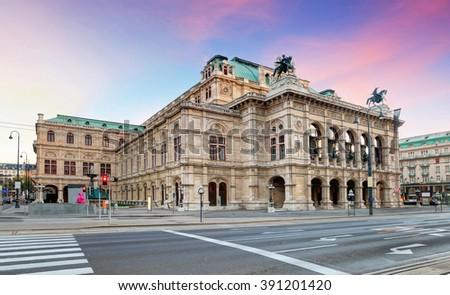Vienna Opera house, Austria - stock photo