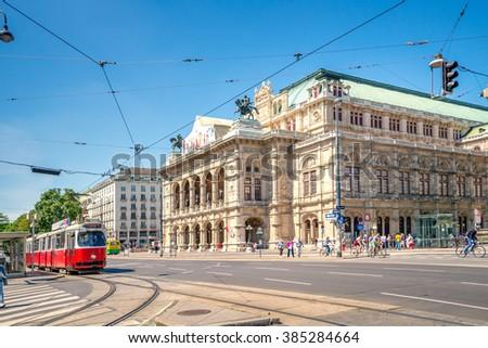 Vienna, State Opera - stock photo