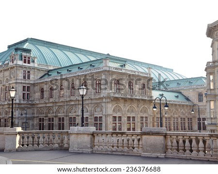 Vienna State Opera Austria - stock photo