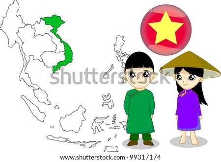 Vietnam - stock photo