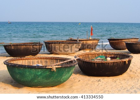 Folk fishing stock photos images pictures shutterstock for Circle fishing boat