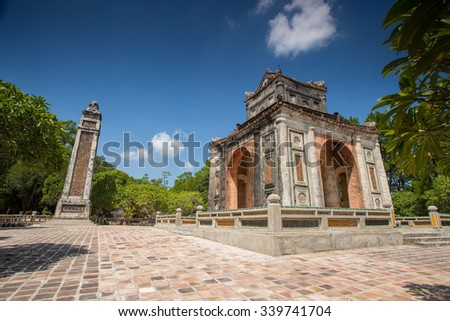 Vietnamese ancient imperial tomb 4