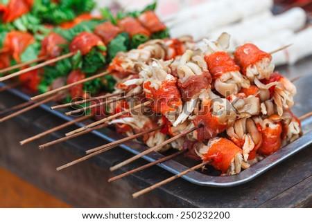 Vietnamese Traditional Food - stock photo