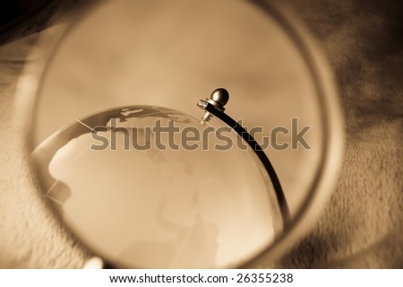 view at europe - stock photo