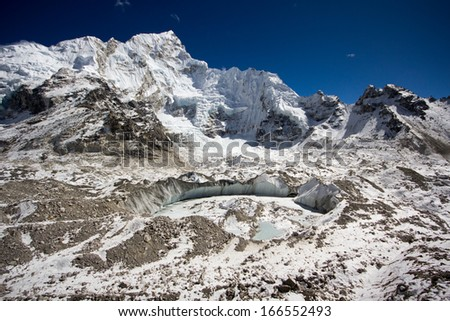 View at Everest Base Camp