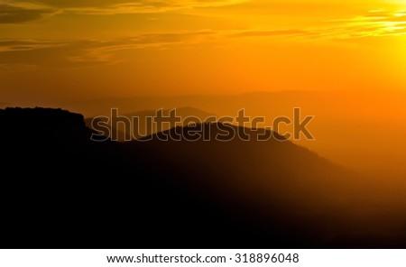 View Beautiful sunlight - stock photo