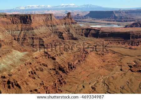 View from Dead Horse Point SP- Utah