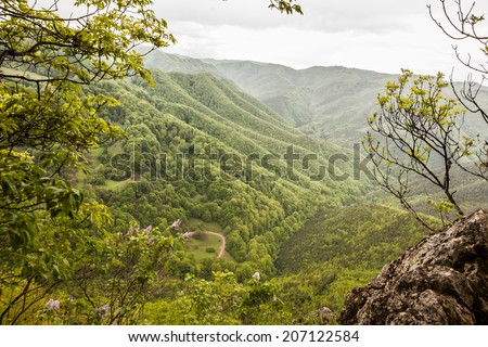 View from top - stock photo