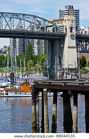 View from Vancouver's Granville Island