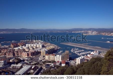 View, Gibraltar - stock photo