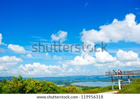 View High Lampang, Thailand. - stock photo