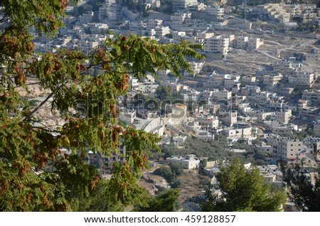 View houses in Jerusalem