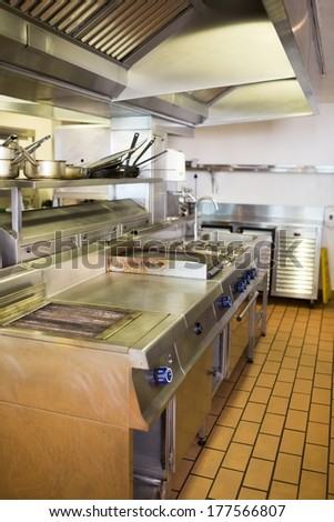 Restaurant Kitchen View restaurant kitchen hood stock images, royalty-free images