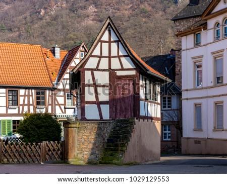 View Of Bad Kreuznach, Bad Muenster Am Stein Ebernburg. Zehntscheune From  1560.