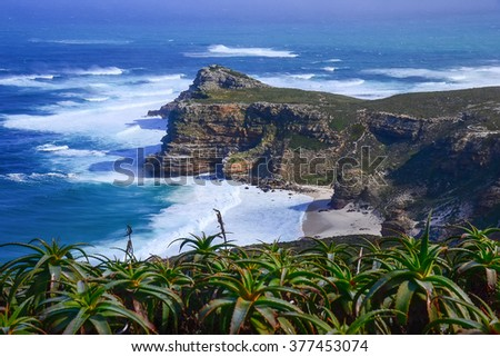 View of Cape of Good Hope South Africa