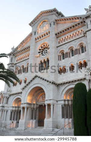 View of Catedral del Principado de Monaco