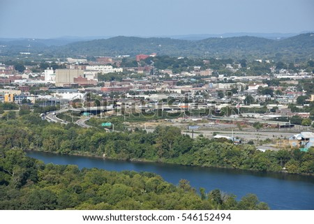 View of Chattanooga, Tennessee