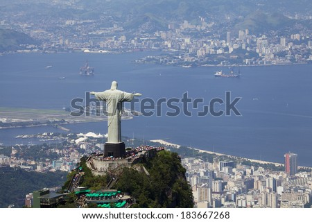 View of Christ Redeemer