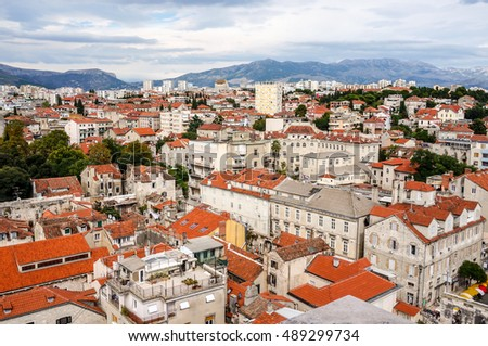 View of Dubrovnik and beautiful Cityscape