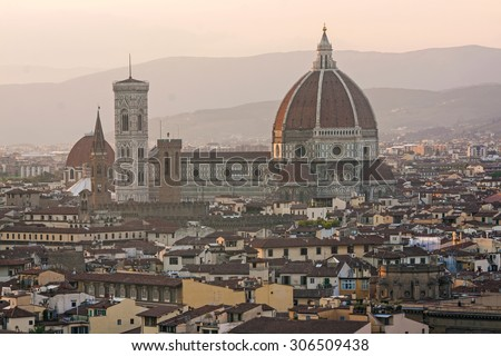 view of Duomo, Florence - italy, tuscany