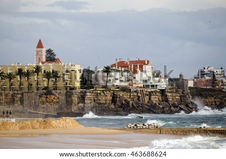 View of Estoril, Portugal