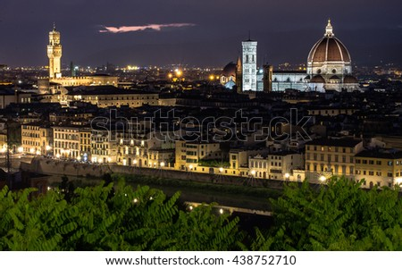 View of Firenze at Night