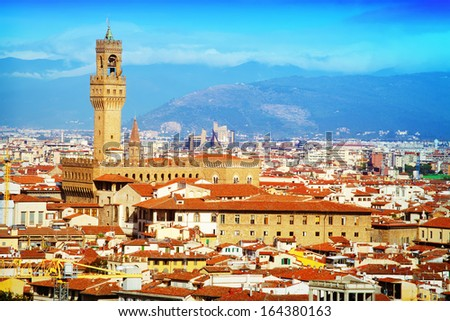 View of Florence,Tuscany, Italy.