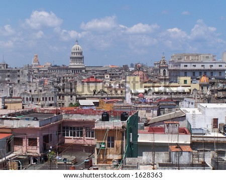 View of Havana. Cuba - stock photo