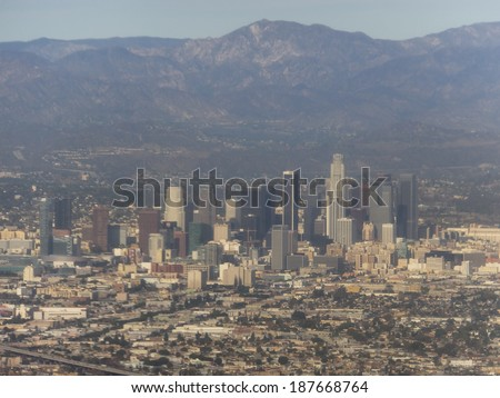View of Los Angeles, California