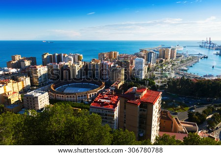 malaga city stock images royalty free images vectors shutterstock. Black Bedroom Furniture Sets. Home Design Ideas