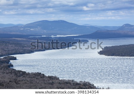 Rangeley stock images royalty free images vectors for Free land maine