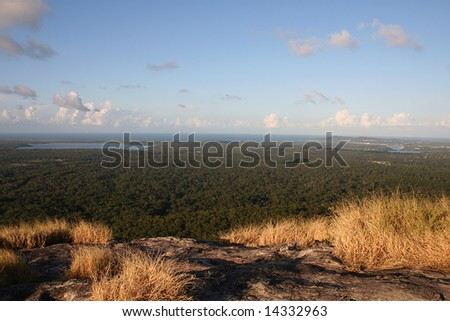 View of Noosa from Mount Cooroy, Sunshine Coast, Queensland, Australia