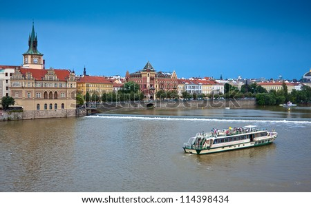View of Old town of Prague, Czech Republic - stock photo