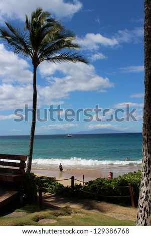 View of Paradise in Makena, Maui