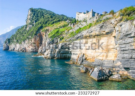 View of Portovenere, Italy