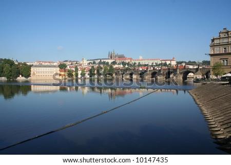 View of Prague - stock photo